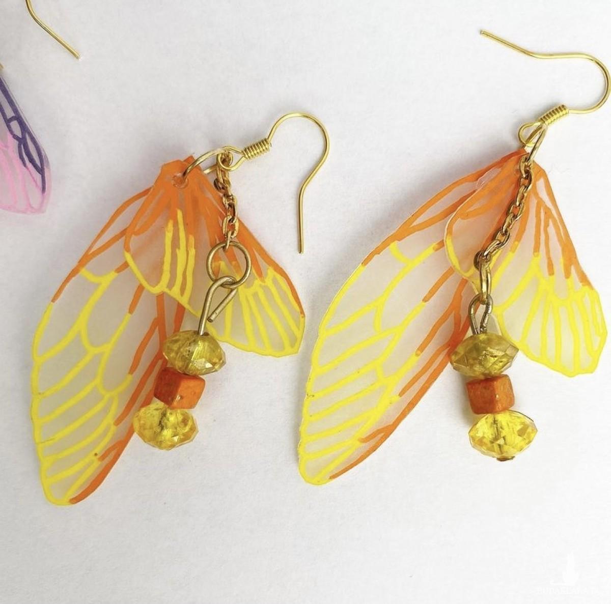 Kolczyki Motyl 4